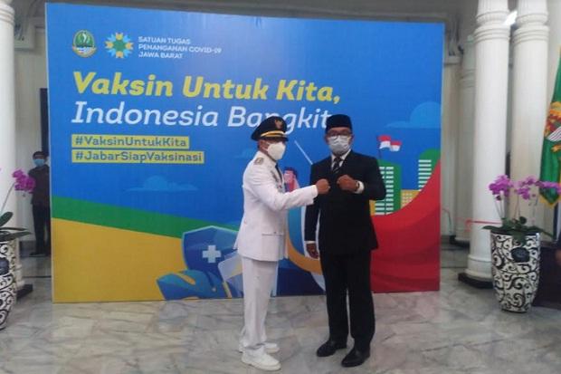 Lantik Pj Bupati Bandung, Ridwan Kamil Titip Pesan Ini