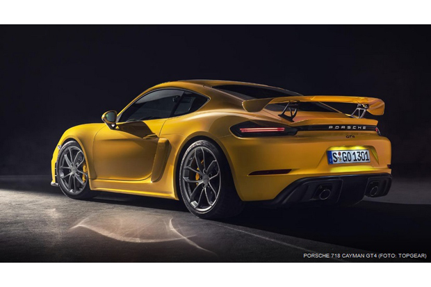 Temukan Cacat, Porsche Recall dan Tunda Penjualan Cayman GT4