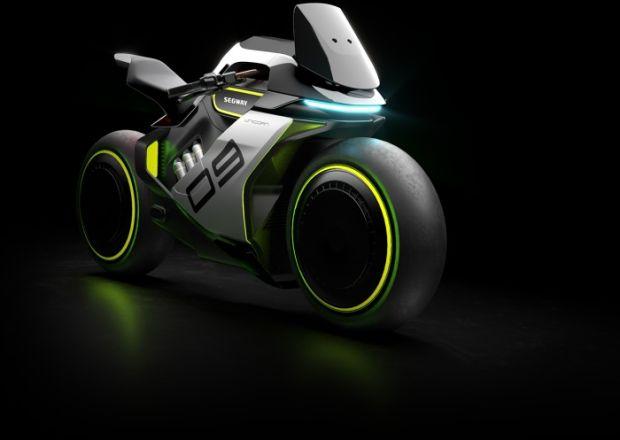 Segway Siapkan Apex H2, Motor Futuristik Bertenaga Hidrogen