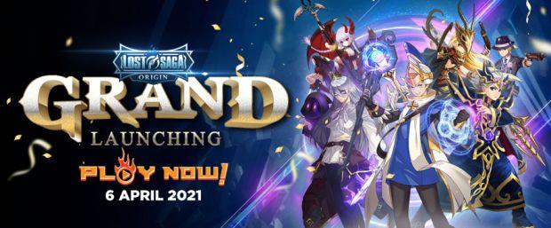 Grand Launching Lost Saga Origin Resmi Dibuka!
