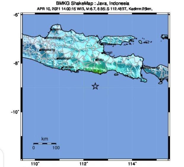 Korban Gempa Bumi di Jawa Timur Terus Bertambah