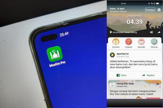 Review Muslim Pro, Aplikasi untuk Permudah Aktivitas Ramadan 1442 H