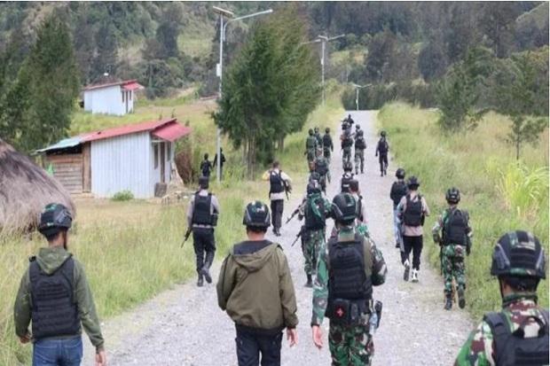 KKB Papua Semakin Brutal, Bakar 1 Helikopter di Ilaga Lalu Tembaki Aparat