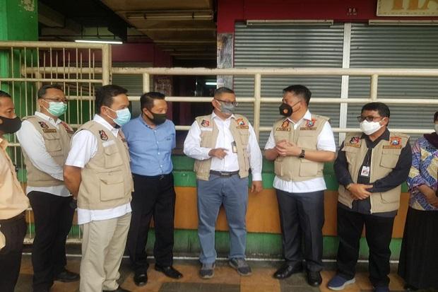 Satgas Pangan Jatim Blusukan ke Pasar Pantau Harga Kebutuhan Pokok Ramadhan dan Lebaran
