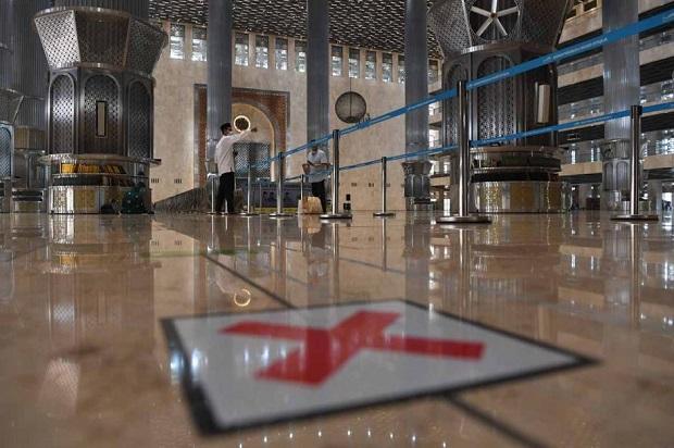 Salat Tarawih Perdana, Begini Persiapan di Masjid Istiqlal Jakarta