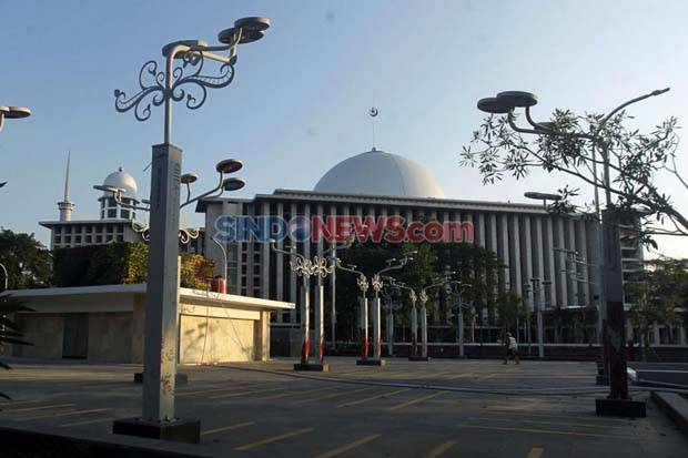 Hari Pertama Ramadhan, Tidak Ada Kegiatan Buka Puasa Bersama di Masjid Istiglal