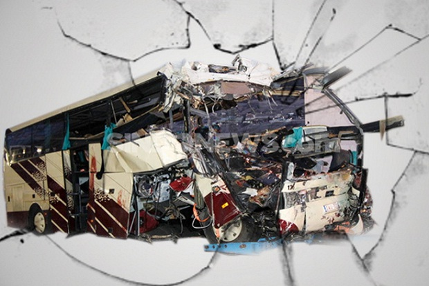 Tragis, 3 Pelajar di Tanah Datar Tewas Disambar Bus Gumarang Jaya