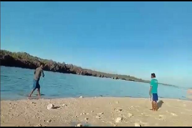 Usai Diterjang Badai Seroja, Warga NTT Digemparkan Munculnya Pulau Baru di Rote