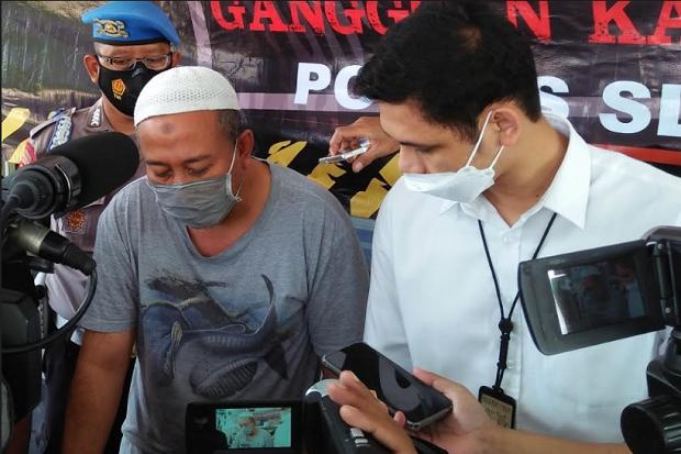 Berkedok Dokter Pesan Daging, Lelaki Ini Sikat 5 Handphone Pedagang di Sleman