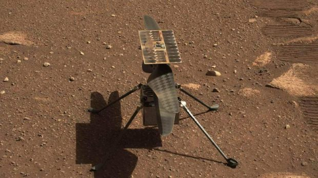 NASA Perbaiki Helikopter Ingenuity di Mars Lewat S