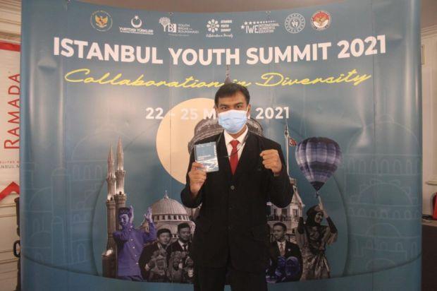 Bikin Website, Mahasiswa UBL Gabung di Konferensi KTT Istanbul Youth Summit 2021