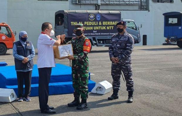 Perkumpulan Orang Batak di Jawa Timur Kirim Bantuan Logistik untuk Korban Bencana NTT
