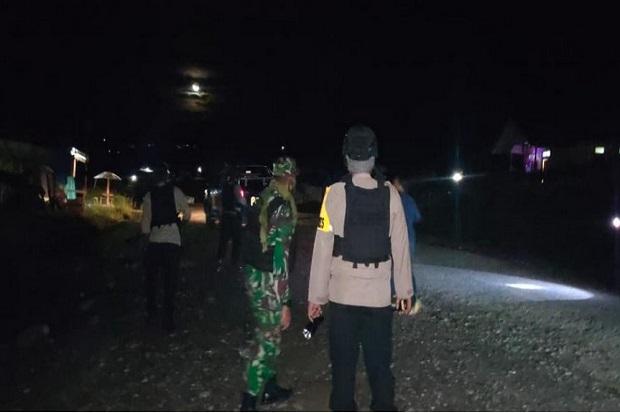 Cegah Teror OPM! Pasukan Raider dan Polri Patroli Gabungan di Kota Ilaga Kabupaten Puncak