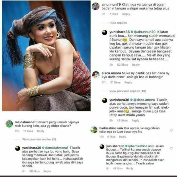 Jahat, Ternyata Ini Penyebab Warganet Tega Membully Yuni Shara di Instagram