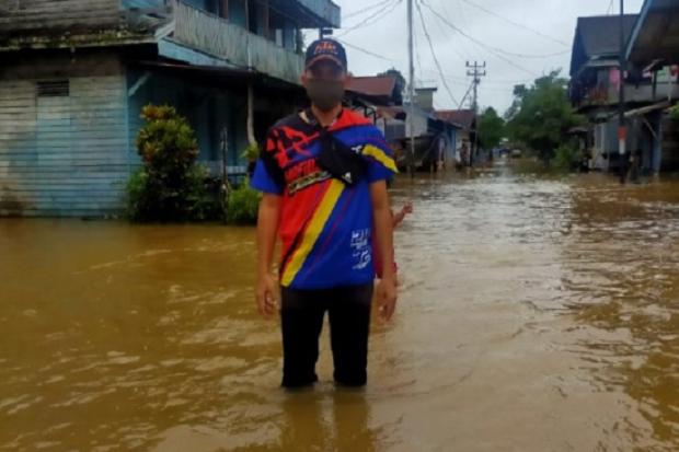 Kapuas Hulu Dilanda Banjir, Pendangkalan Sungai Penyebabnya