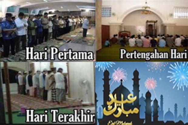 Hari ke-7 Ramadhan, Jamaah Sholat Tarawih Mulai Menyusut