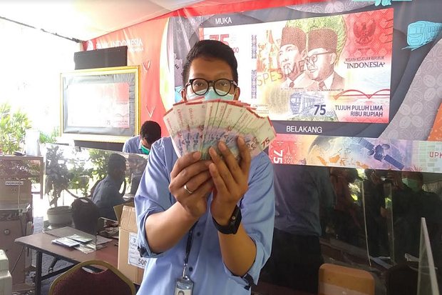 Siapkan 559 Titik, BI Minta Warga Tak Tukar Uang di Pinggir Jalan