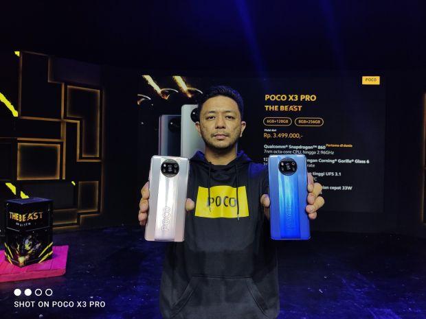 The Beast, POCO X3 Pro dengan Snapdragon 860 Dijual Mulai Rp3,5 Jutaan