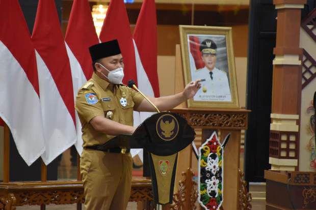 Gubernur Kalteng Minta BPKP Dorong Kinerja Pemda dalam Mengelola Keuangan dan Administrasi