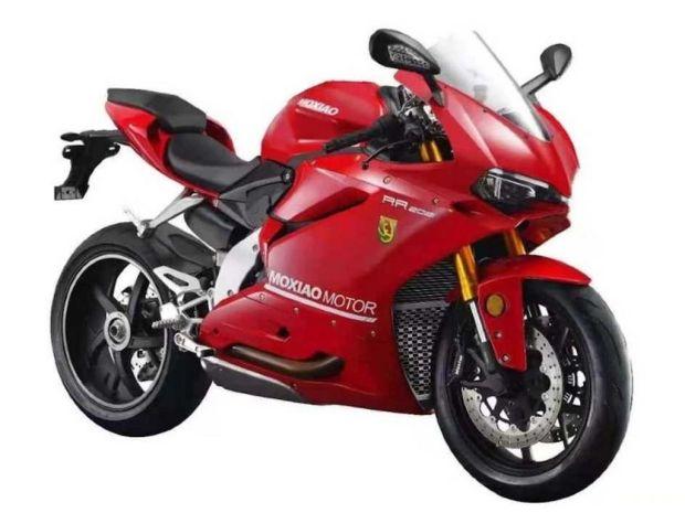 Bukan Ducati Panigale V4, Ini Moxiao 500 RR Buatan China
