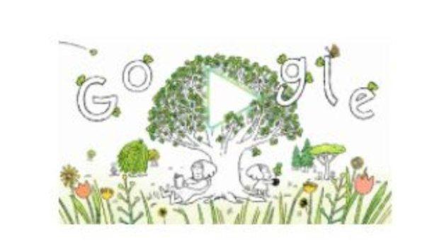 Hari Bumi, Google Ajak Pengguna Tanam Pohon Lewat Doodle