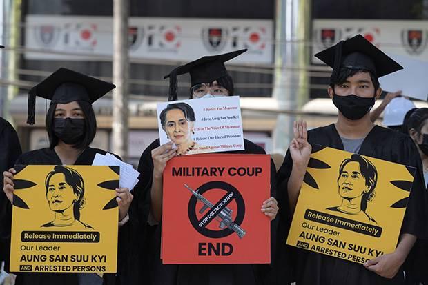 Buntut Kudeta Militer, AS Jatuhkan Sanksi Kepada 2 BUMN Myanmar