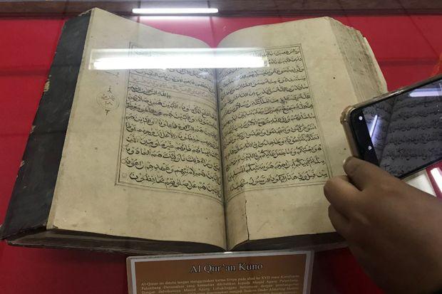 Melihat Al-Quran Tulisan Tangan yang Masih Terjaga Rapi di Museum Subkoss