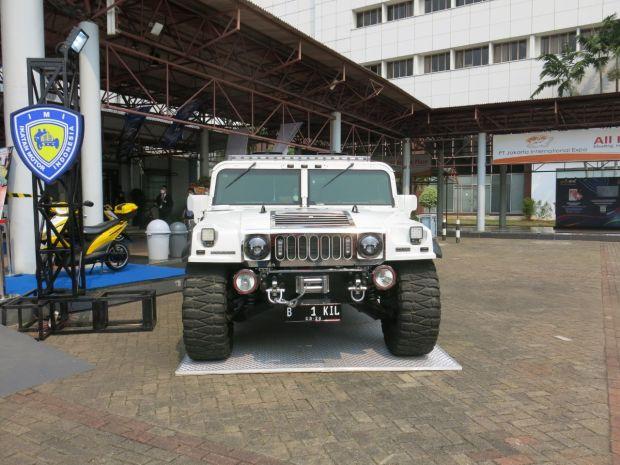 Mobil Koleksi Para Jenderal dan Tokoh Nasional di IIMS Hybrid 2021