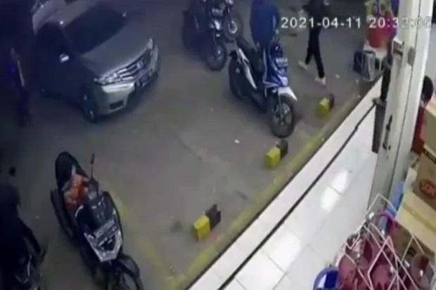 Curanmor Gemparkan Palembang, Gasak Motor Milik Ibu Hamil di Minimarket