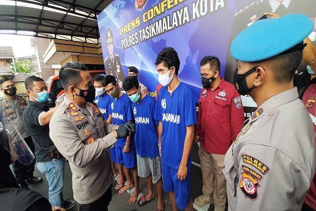 Komplotan Curanmor dan Penadah di Tasikmalaya Dibekuk Polisi