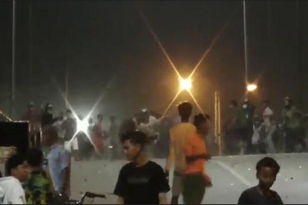 Medan Membara, Tawuran Antar Pemuda Pecah di Jembatan Penghubung Kecamatan