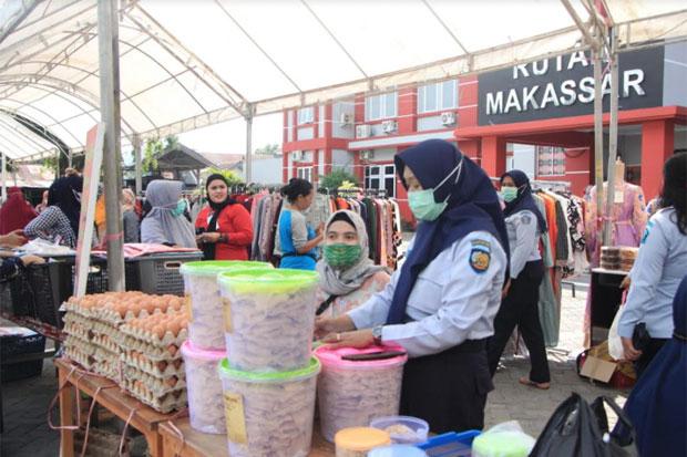 Rutan Makassar Gelar Bazar dan Pasar Murah Sampai 1 Mei