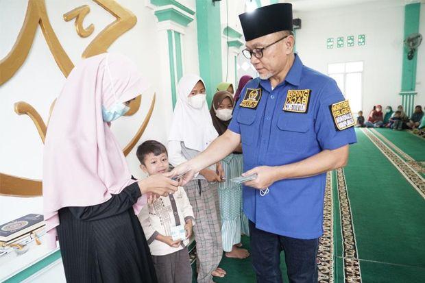 Safari Ramadhan, Zulhas Beri Beasiswa bagi Anak-anak Penghafal Alquran