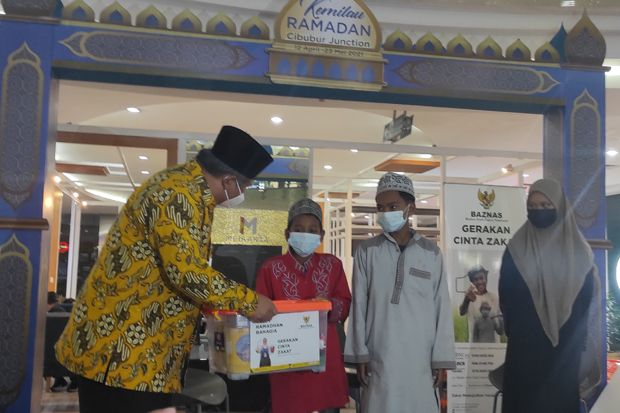 Baznas Anggarkan Rp3,8 Miliar untuk Program Paket Ramadhan Bahagia