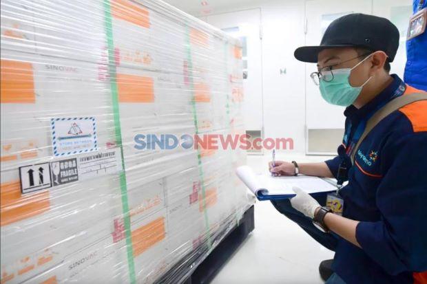 Menkominfo: Bukti Komitmen Indonesia, Sudah 10 Tahap Vaksin Covid-19 Tiba