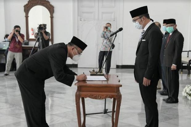Ridwan Kamil Dorong BKKBN Jabar Wujudkan Keharmonisan Keluarga