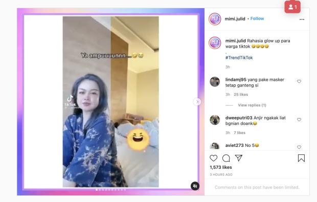Viral Half Filter di TikTok, Auto Glowing dalam Sekejap