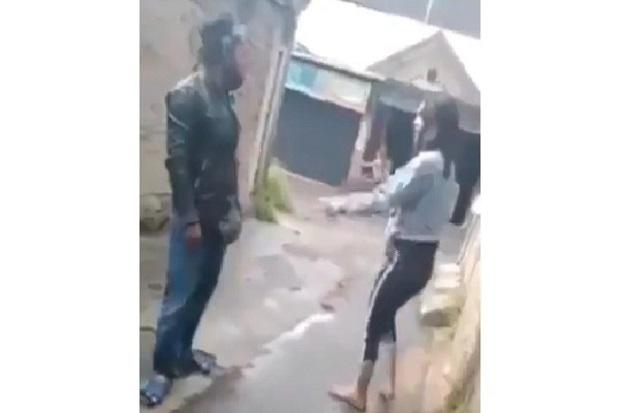 Video Viral, Suami Istri di Kabupaten Bandung Cekcok di Jalan Lalu Ditusuk