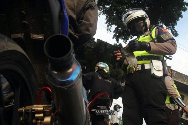 Dirazia, Pengguna Motor Berknalpot Brong di Kota Medan Nekat Terobos Petugas