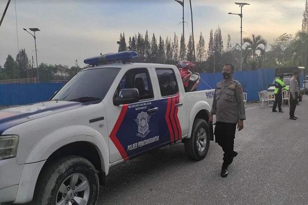 Perangi Balap Liar, Polisi Jaga Lokasi hingga Sita 17 Sepeda Motor