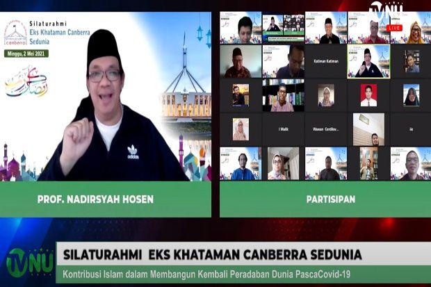 Nadirsyah Hosen: Pandemi Buka Peluang untuk Muslim, Sinergikan Agama dan Sains