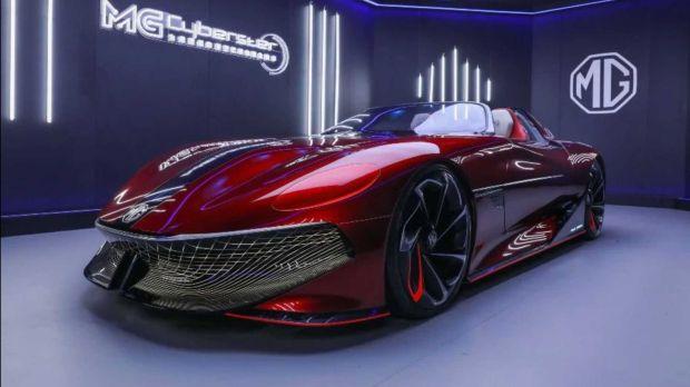 Mobil Konsep MG Cyberster Butuh Sokongan Dana agar Jadi Produksi Massal