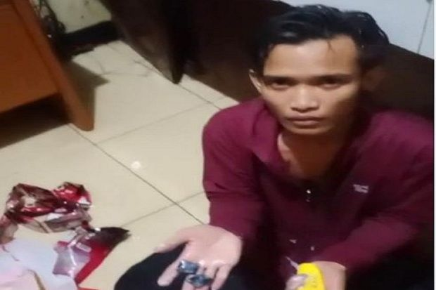 Polisi Tangkap Pelaku Selundupkan 11,6 Gram Sabu ke Rutan Polres Karawang