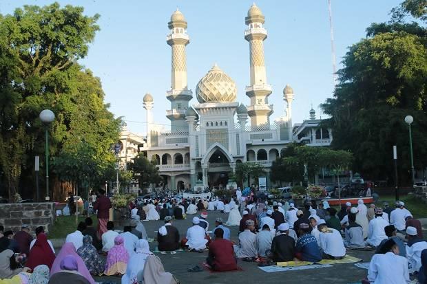 Cegah COVID-19, Zona Oranya dan Merah di Jateng Dilarang Gelar Salat Idul Fitri