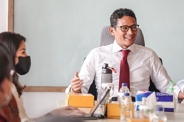 Tindaklanjut Kunker ke Aceh, Sandiaga Gercep Jaring Investasi USD 1 Miliar dari UEA