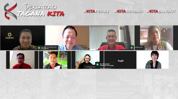 Wow! 1.018 Komunitas Indonesia Timur Deklarasikan Program TAGANA KITA