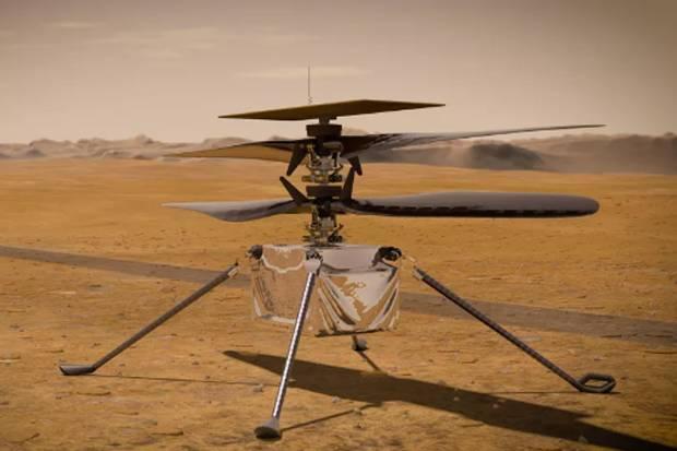 Sukses Lakukan Penerbangan, NASA Perpanjang Tugas