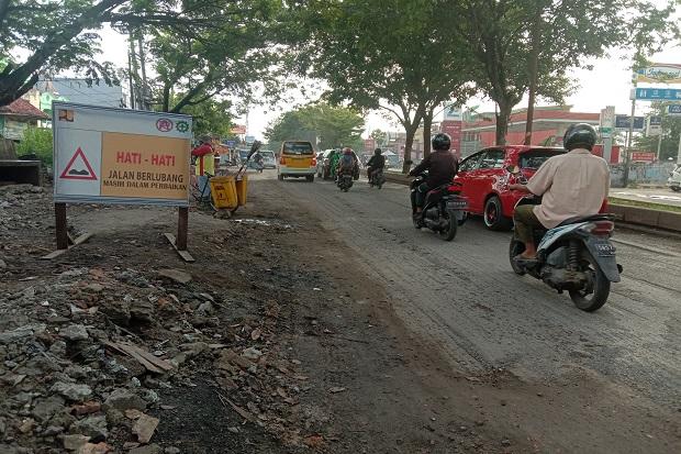 Hadapi Lebaran, BBPJN Kebut Perbaikan Jalan Dalam Kota Palembang