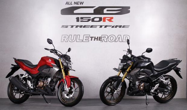 PT Astra Honda Motor (AHM) merilis motor naked sport All New CB150R Streetfire dengan tampilan desain baru yang agresif layaknya motor big bike.