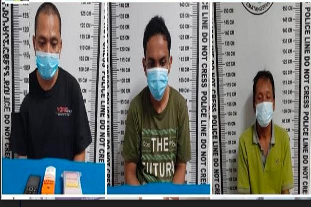 Dalam Sehari, Polres Pematangsiantar Tangkap 3 Pria Pengedar Narkoba